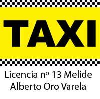 Licencia taxi Melide