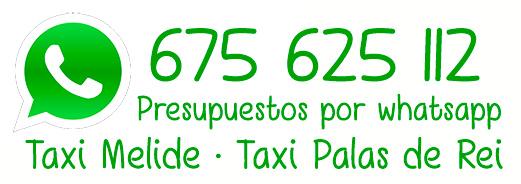 Presupuestos por Whatsapp de Taxi