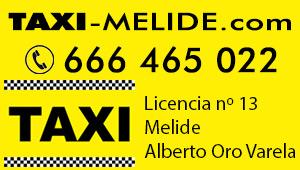 Taxi Camino de Santiago (Melide)
