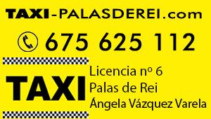 Taxi para peregrinos en Palas de Rei