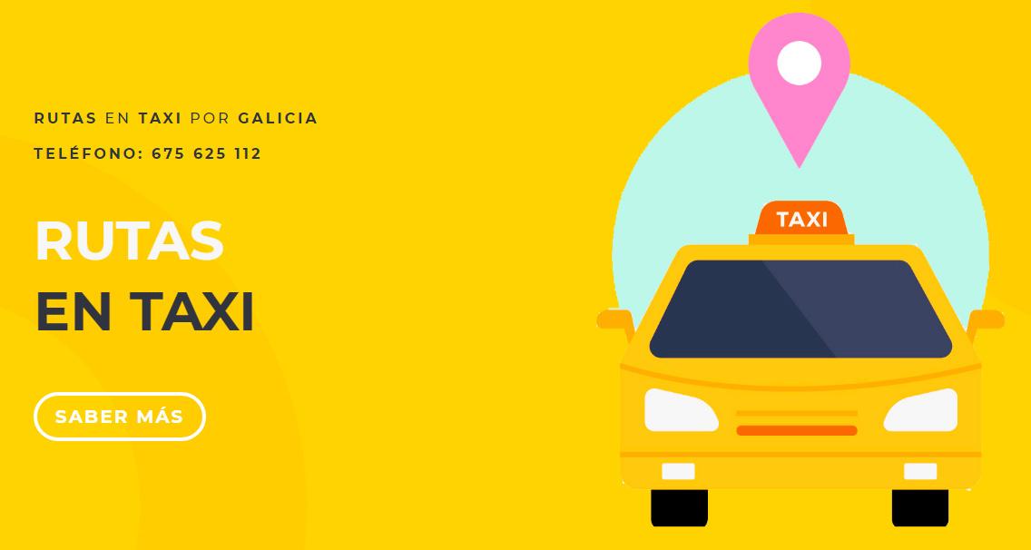 rutas en taxi galicia