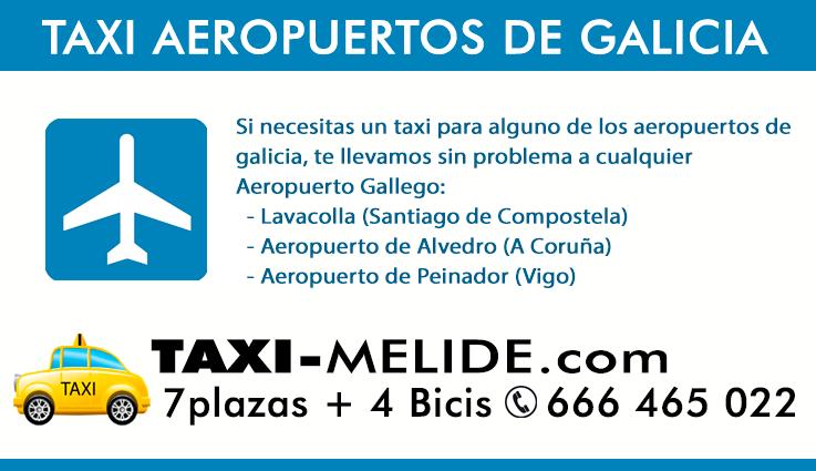 Taxi Peregrinos Aeropuerto Santiago de Compostela