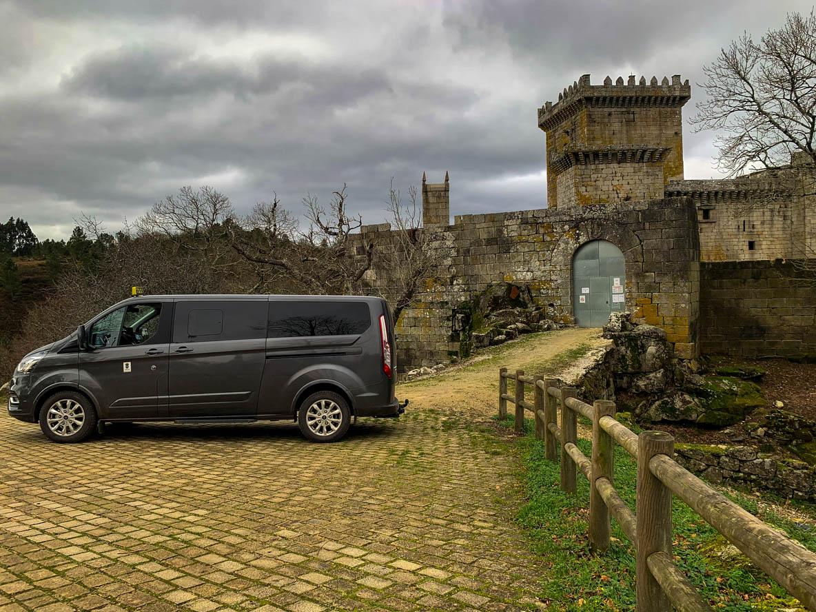 taxi para peregrinos en Melide